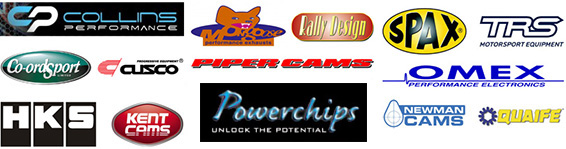 Power Crazy supply and use parts from theses performance brands