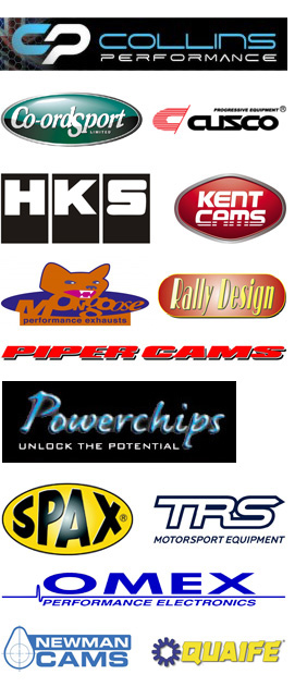 Power Crazy Motorsport Performance Parts Supplier logo's